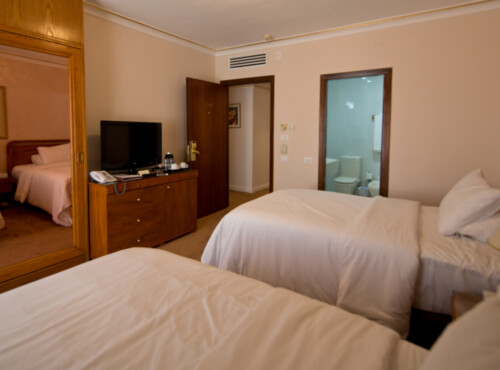 Connected Rooms - 60 SQM